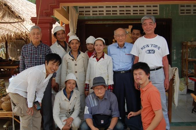 カンボジアガラ紡